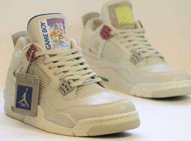 Air Jordans Dengan Tema Game Boy Dihargai Seharga 1350 US Dollar