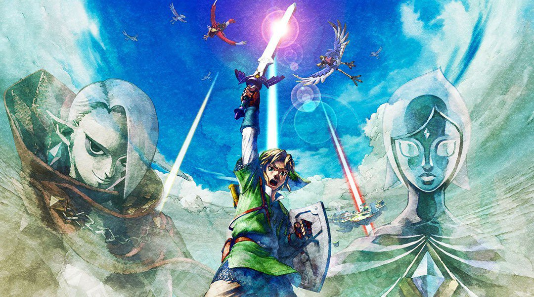 Legend of Zelda Skyward Sword Mungkin Akan Datang Ke Nintendo Switch