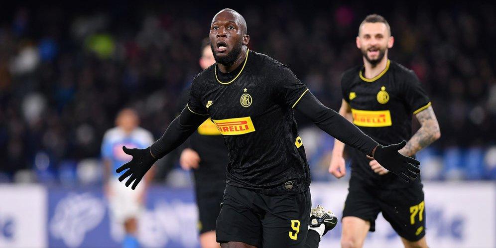 Hasil Pertandingan Napoli Vs Inter Milan Skor 1-3